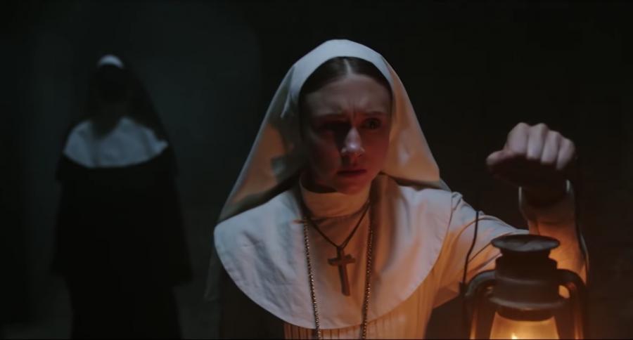 Лидером русского проката стал триллер «Проклятие монахини»