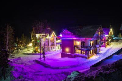Шерегеш вошёл в топ-3 российских горнолыжных курортов на Новый год