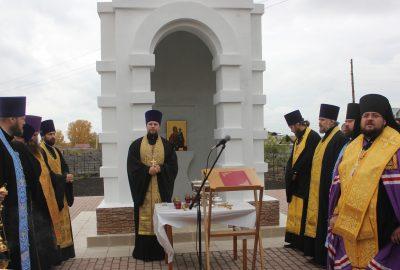 В Кузбассе возвели часовню в память о детях, погибших на пожаре в «Зимней вишне»