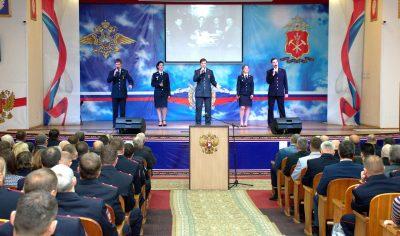 Кузбасская полиция отметила 100-летие уголовного розыска