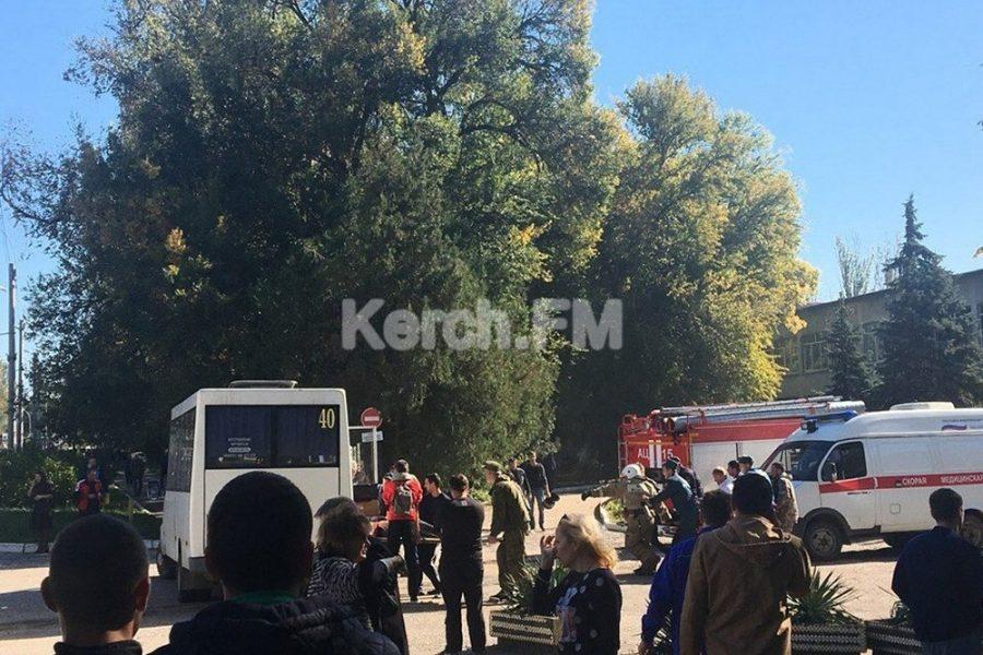 В колледже в Керчи сработало взрывное устройство, есть погибшие