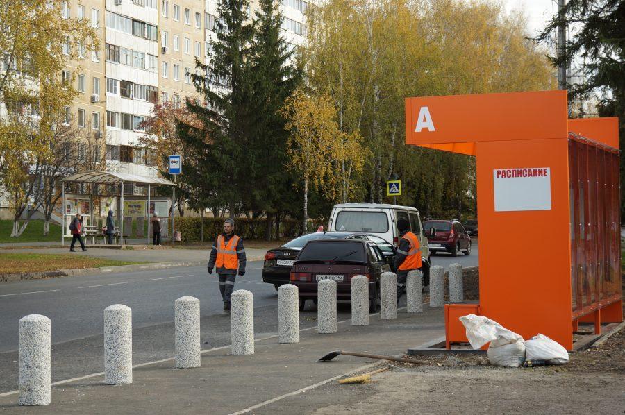 Не заблудиться с утра: в Кемерове установили новую остановку