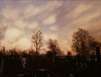 «Фантастические» облака над Кемеровом сняли на фото