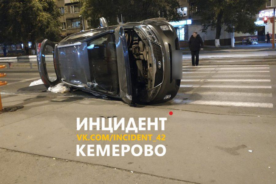 Вчерашнее ДТП в Кемерове устроил пьяный пенсионер
