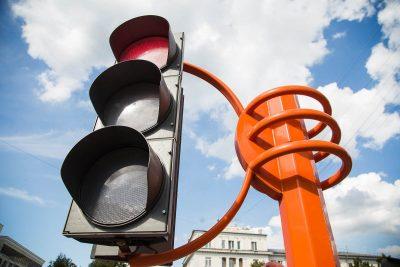 С начала года в Кемерове 64 аварии произошли из-за проезда на красный сигнал светофора