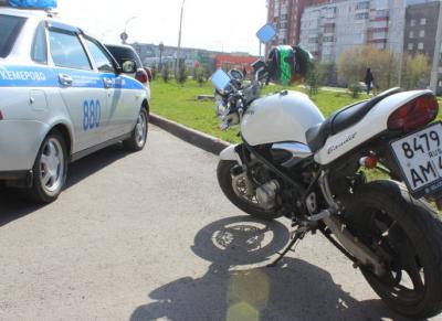 В Кемерове 44 мотоциклиста привлекли к ответственности за езду в нетрезвом виде