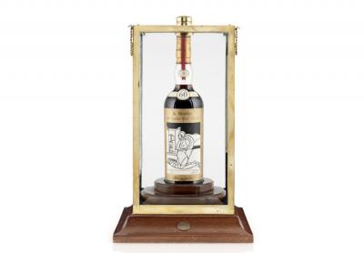 В Шотландии с молотка ушла самая дорогая бутылка виски в мире