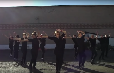 «ИК-50 представляет»: в юргинской колонии прошёл танцевальный флешмоб