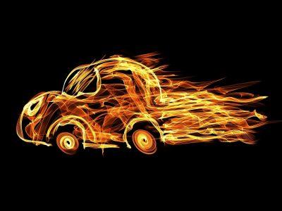 Отойти и ждать: что делать пожара в авто