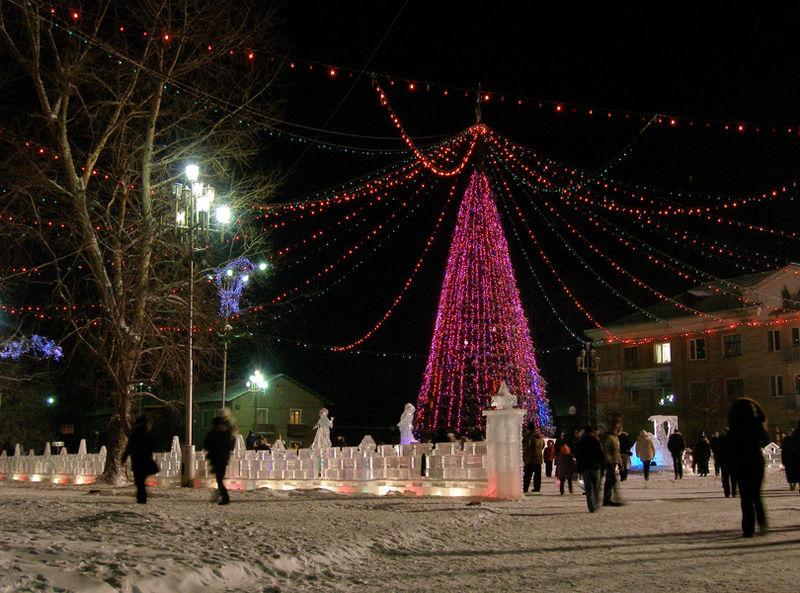 В Кузбассе выберут лучший ледовый городок