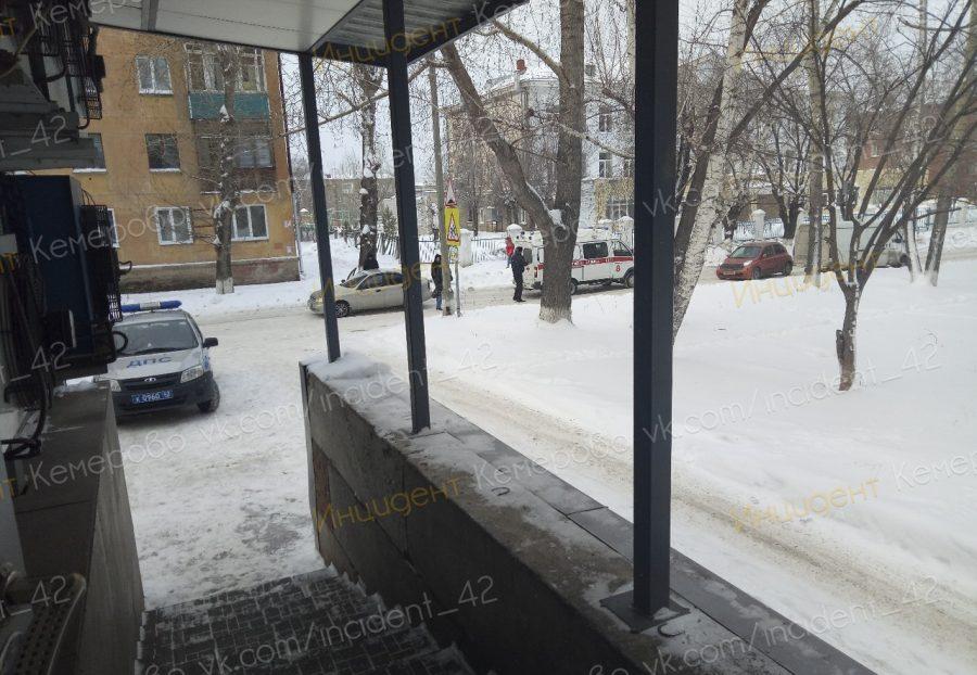 В Кемерове на Тюленина сбили пешехода