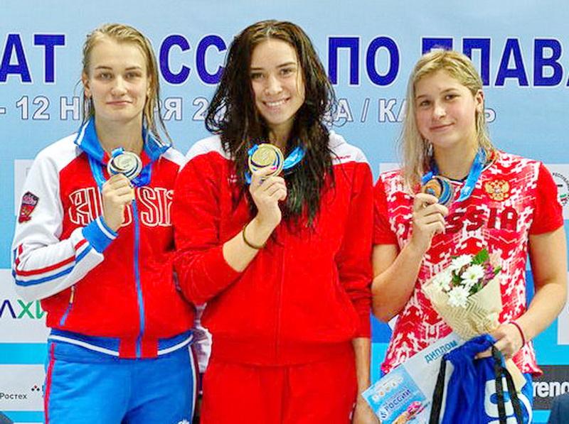 Кузбасская пловчиха установила два рекорда России