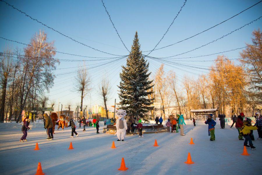 В кемеровском парке пройдут «Рождественские гулянья»