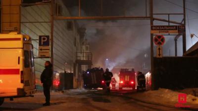 «Вырывается пламя, слышны хлопки»: глава Новокузнецка о пожаре в ТЦ «Заря»