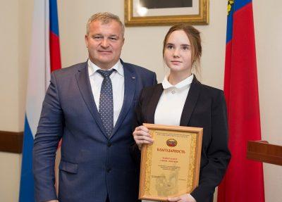 В Кузбассе наградили юных детей-героев