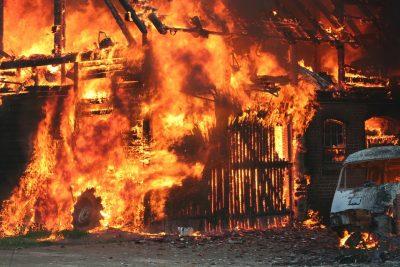 В Кузбассе пожар унёс жизни четверых человек