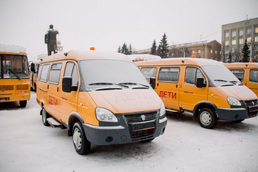 В Кузбассе появились новые автобусы