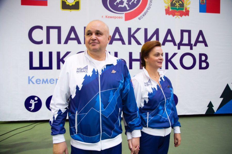 Сергей Цивилев открыл финал необычной Спартакиады школьников в Кемерове