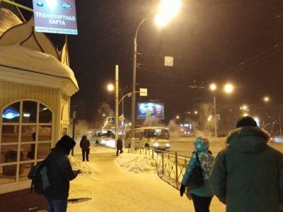 Кемеровчане просят вернуть часы на бульварное кольцо