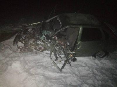 Груда металла: фото смертельного ДТП на кузбасской трассе