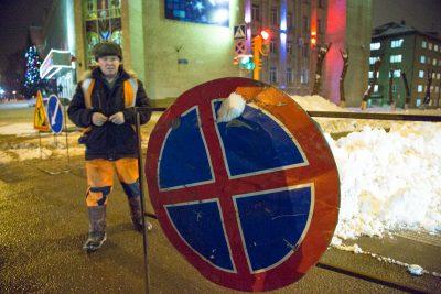 В центре Кемерова запретят парковку из-за спектакля