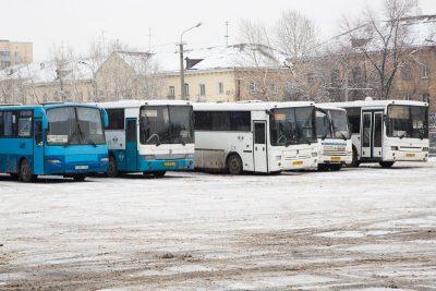 В Кузбассе могут отменить автобусные рейсы в новогодние праздники