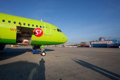 У самолёта S7 отказал двигатель на высоте около трёх тысяч метров