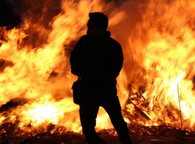 Семейная пара погибла на пожаре в Кузбассе
