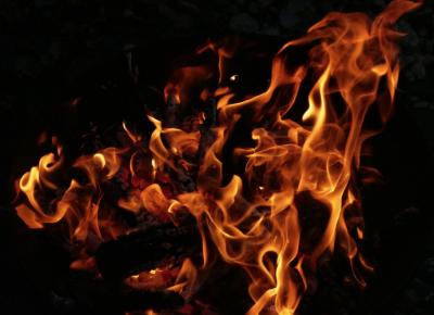 Вчера в Кузбассе массово горели машины
