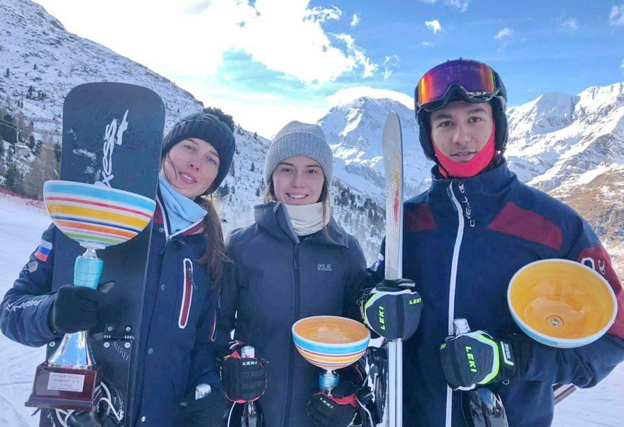 Кузбасские сноубордисты привезли медали из Италии