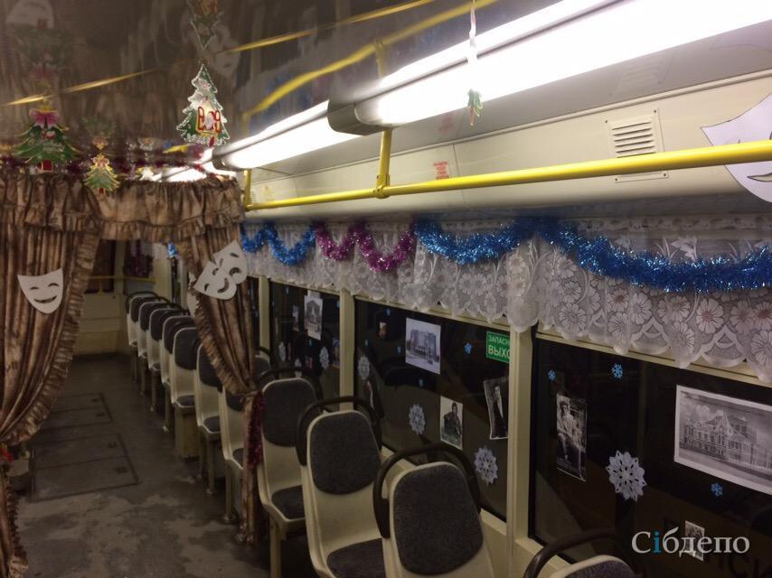 Креатив зашкаливает: по Кемерову катается экзотичный трамвай