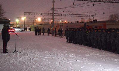 Кузбасские полицейские вернулись с Северного Кавказа без потерь