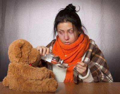 В Кузбассе за неделю больше 12 000 детей заболели ОРВИ