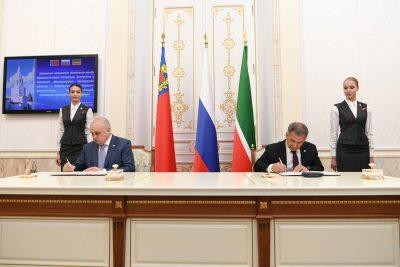 О чём договорились главы Кузбасса и Татарстана