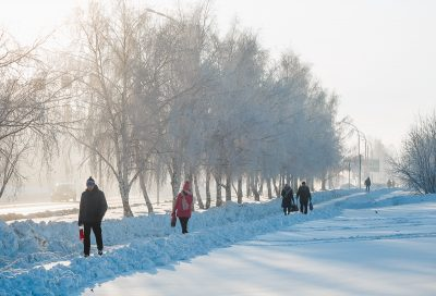 Ближайшие выходные в Кузбассе будут морозными