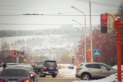 Кемеровские светофоры начали работать по-новому