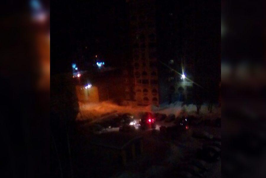 Ночью в Кемерове полиция гонялась за подростком, который повредил два авто