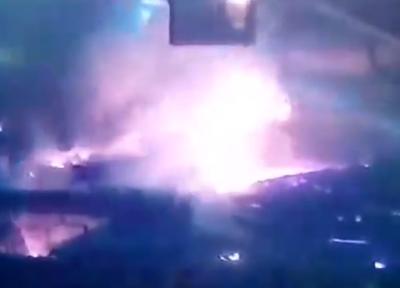 Видео момента, как расплавленный чугун вылился на людей в Новокузнецке