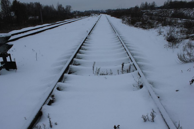 В Новокузнецке поезд переехал женщину, она погибла
