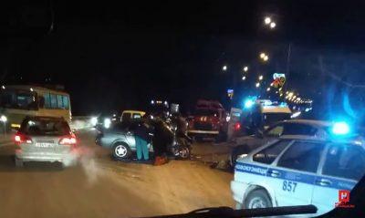 Страшное тройное ДТП в Новокузнецке: фото, видео