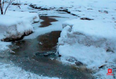Фото, видео: Центральный район Новокузнецка затопило