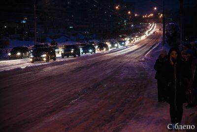 Госавтоинспекция Кузбасса заставляет властей ремонтировать дороги