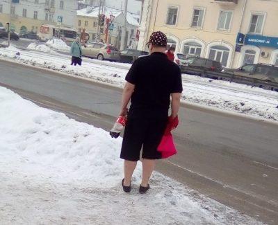 На кемеровских улицах снова появился Кола-мэн