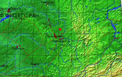 В Кузбассе произошло очередное землетрясение