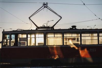 Видео: в Кузбассе заметили «трамвай из ада»