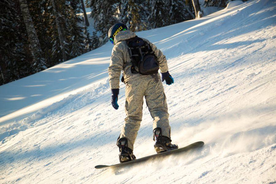 В Шерегеше потерялся сноубордист