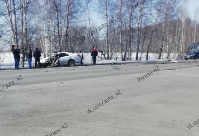 Видео страшного ДТП с автобусом на кузбасской трассе появилось в Сети