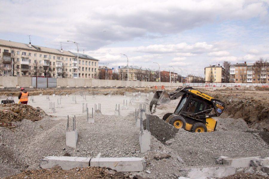 Планы по строительству сквера на месте сгоревшей «Зимней вишни» изменились