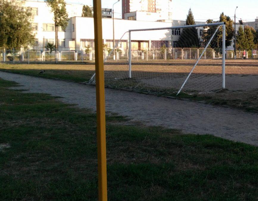 Шок-видео: кемеровчанин показал, во что превратился школьный стадион