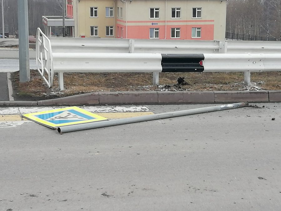 Последствия штормового ветра в Кузбассе 18 апреля 2019 г